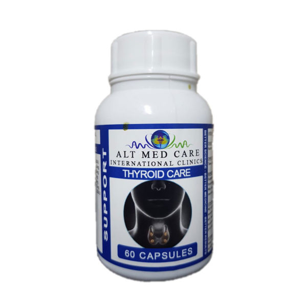 Alt Med Thyroid Care 60 Capsules